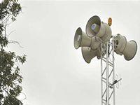 Sirenes serão testadas em diversos bairros