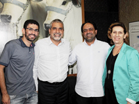 Prefeito Flávio se reúne com Secretário Christino Áureo