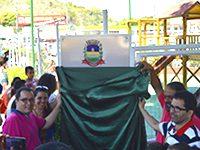 Dia das Crianças com festa e inauguração em Areal