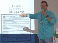 Secretário de Meio Ambiente de Areal faz palestra na Universidade Rural