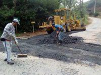 Prefeitura Municipal de Areal recuperando estradas vicinais