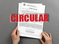 Circular nº 004/2017/SA – Assinatura da Declaração de Residência e Vida