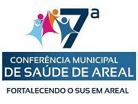Convite para a 7ª Conferência Municipal de Saúde de Areal
