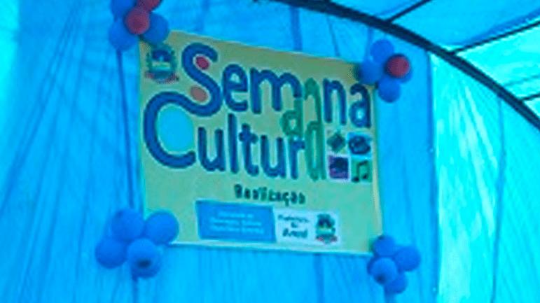 Prefeitura Municipal de Areal deu início a Semana da Cultura