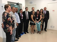 Prefeito Flávio Bravo e comitiva prestigiam a inauguração das novas instalações do Banco Bradesco
